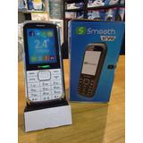 Telefono Celular Basico Economico Smooth Liberado Doble Sim