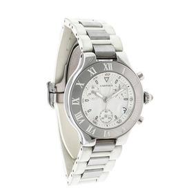 Reloj Cartier Para Caballero Modelo Chronoscaph 21-119332562