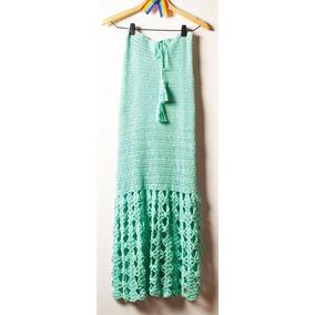 Pollera Crochet Playa Tejida A Mano
