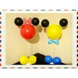 Enfeites Aniversario Suportes Mickey Mouse P Bexigas Balão