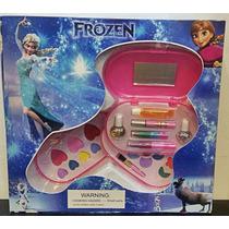 Kit De Maquiagem Da Frozen Elza Infantil Disney Brinquedo