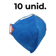 10 Máscara Proteção Respiratória Pff1 Selo Inmetro