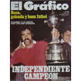 El Grafico 2872 Independiente Campeon America 1974