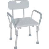 Silla De Ducha Baño Ortopedica Aluminio Con Apoyabrazos