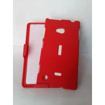 Clip Nokia Lumina 720 Dual Rojo