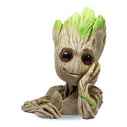 Baby Groot Maceta - Lapicero Figura Impresa En 3d  15 Cm