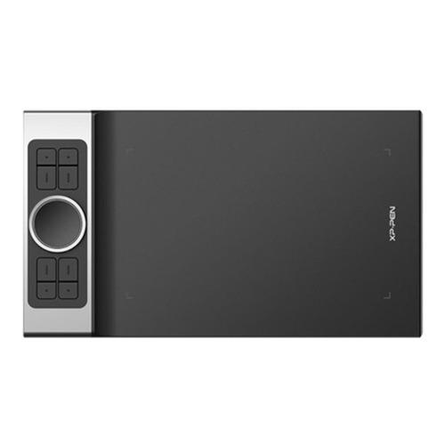 Tableta digitalizadora XP-Pen Deco Pro Small  negra y plata