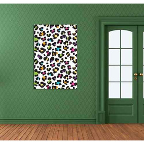 Cuadro Animal Print Colores Moderno Decoracion 30x45cm Envio