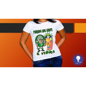 Mundo Palmeiras - Camisetas Manga Curta no Mercado Livre Brasil d714138c953ea