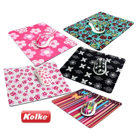 Kit Mouse Optico Y Mouse Pad Kolke Kmp-100