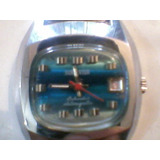 Antiguo Reloj Sorienter Calendar Antimagnetic De Cuerda