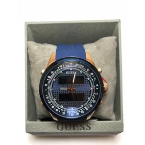 Reloj Guess Rogue Digital Análogo Para Caballero W0862g1