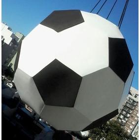 Piñata Tipo Pelota De Futbol Cartulina - Reutilizable