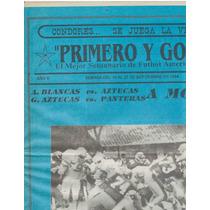Futbol Americano Periodico Primero Y Gol No.81