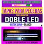 Tapa Para Pecera 120 X 30 Con Doble Leds Luz De Luna +blanco