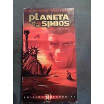 El Planeta De Los Simios 1968 Vhs Original Desontinuada