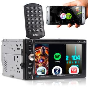 Central Multimídia 7 Mp5 Dvd Bluetooth Tela Touch Full Fm Tv