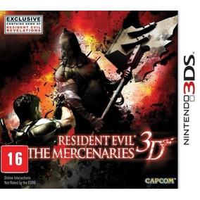 Resident Evil The Mercenaries 3d 3ds Midia Fisica Lacrado