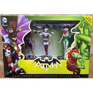 Batman Set De 3 Figuras Dc Masterpiece Femme Fatales Serie 2