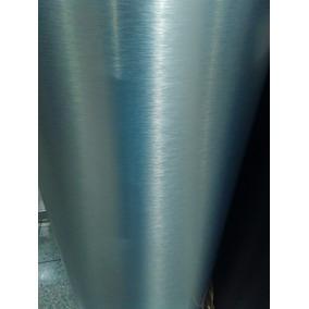 Formica Aluminio Brushed Metalizada Metal Metalizado
