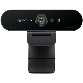 Webcam Logitech Brio 4k Con Rightlight Ultra Hd Lezamapc