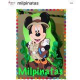 Piñata Entamborada Mickey Minnie Personalizada Por Encargo,