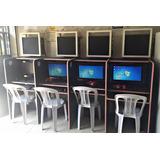 Computadores Amd A4-7300 + Muebles Cabina De Internet