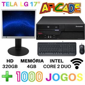 Pc Gamer Completo + Tela De 17