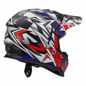 Casco Enduro Ls2 Mx 437 Fast Strong Motocross Atv 2018 - Fas