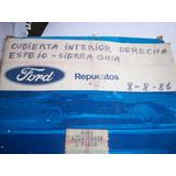 Cubierta Interior Derecha Del Espejo Ford Sierra Ghia