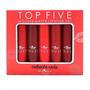 Caliente reds (stiletto red 04, marilyn 03, caliente 13, lovelace 14, poison apple 05)