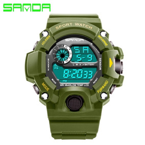 Reloj,militar Sanda Moda,digital,led,deportivo,multifuncion