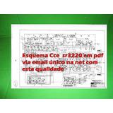 Esquema Receiver Cce Sr3220 Sr 3220 Em Pdf Via Email