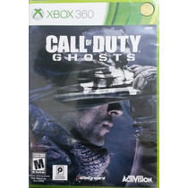 Call Of Duty Ghosts Xbox 360 Novo Lacrado Envio Imediato