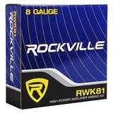 Rockville Rtb80a 8 400 Watt Powered Subwoofer Bajo Tubo,