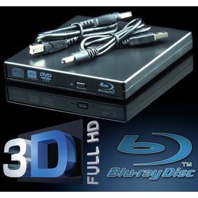 Gravador De Blu-ray 3d E Cd Dvd E Leitor Usb Slim Externo