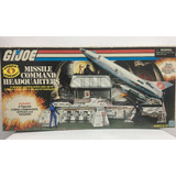 Gijoe 3 Figuras Missile Command Headquarters Hasbro