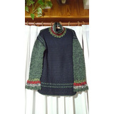 Sweaters De Lana Tejidos A Mano - Mujer [usados] [crochet]