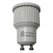 Lâmpada Mini Led Dicróica 4w Socket Gu10 3200k Branco Quente
