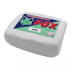 10x Massa Biscuit Fox Kg - Natural