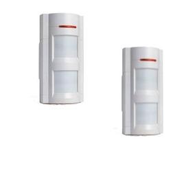 Paquete 2 Sensores Movimiento Exterior Inalámbrico Alarma