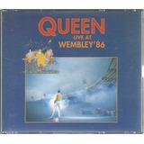 Cd Queen Live Ar Wembley 86 - Novíssimo!