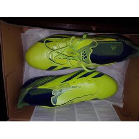 Tenis Futbol Tacos adidas F50 Sg Adizero Profesionales Nuevo