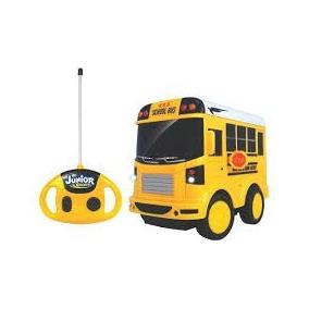 Junior Racers Primeiro Ônibus Escolar Controle Remoto 80054