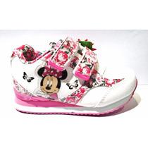 Zapatillas Addnice Minnie Luces Disney Envío Gratis
