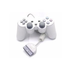Controle Analogico Playstation 1 Psone Novo+cabo Longo Novo!