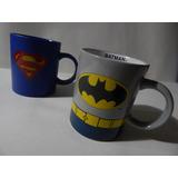 Mugs De Superman Y Batman