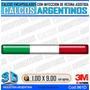 Bandera Italia Finita,encapsulada C/inyeccion De Resina