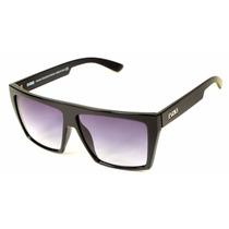 Óculos Evoke Evk 15 New Black Shine Silver Gray Gradient