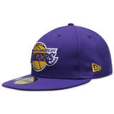 Gorra New Era 5950 Nba Lakers Title Trim Otc Morada